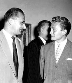 Сандро Пуппо и Умберто Аньелли