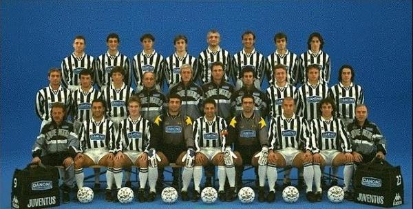 1994 состав ювентуса