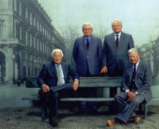 Джанни и Умберто Аньелли, Витторио Ди Кьюзано и Джампьеро Бониперти