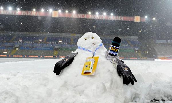 Из-за снегопада был перенесен матч «Ювенутса» с «Пармой»