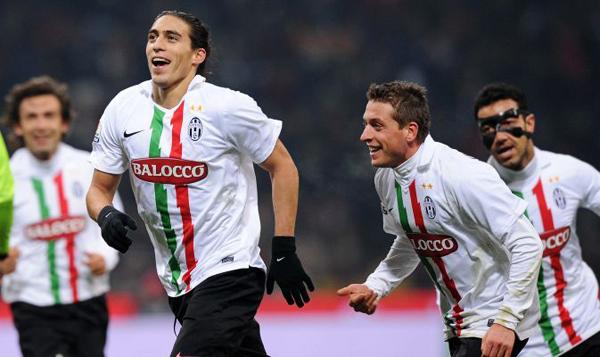Мартин Касерес отметил возвращение в «Ювентус» голом в ворота «Милана» в Кубке Италии