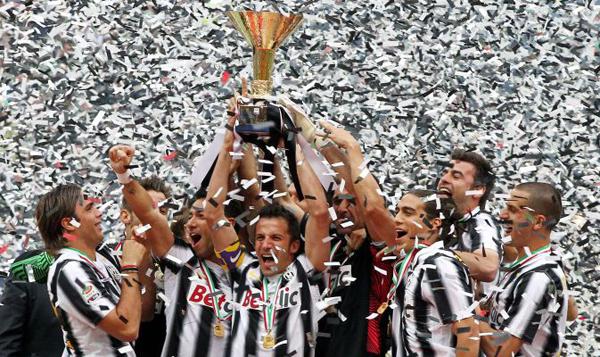 «Ювентус» - чемпион Италии!