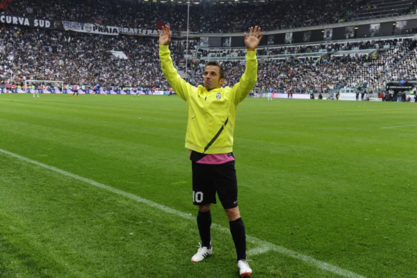 Алессандро Дель Пьеро попрощался с «Ювентусом»