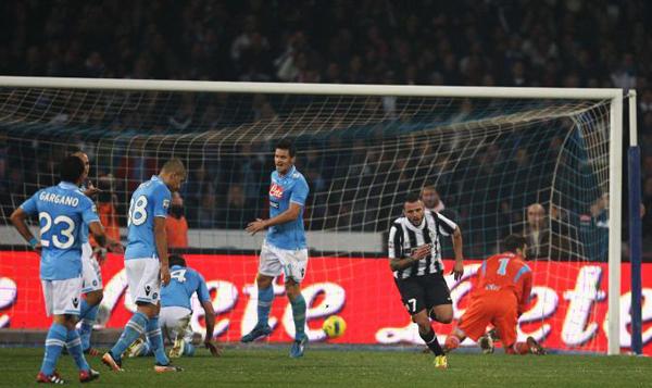 Симоне Пепе спасает «Ювентус» в матче с «Наполи»